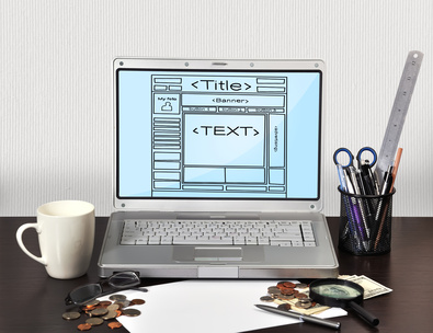 template web page