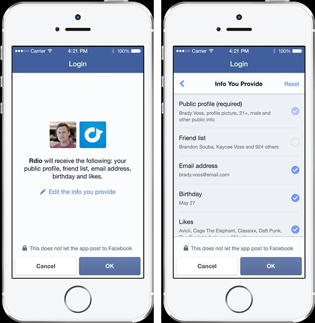 (日本語) Facebookアプリを使えばいとも簡単にメールアドレスを抜けると言うことを知らない人が多すぎる
