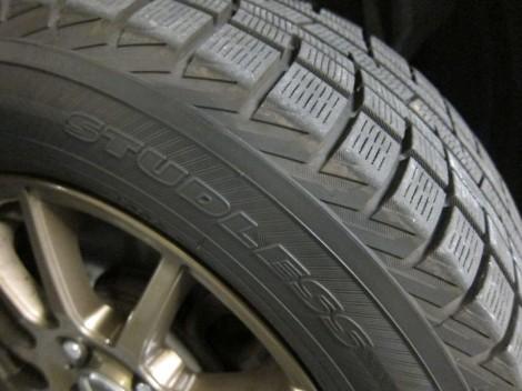 (日本語) スタッドレスタイヤへの交換はお済みですか?タイヤ保管サービスのすすめ。